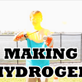 Making Explosive Hydrogen Gas with Drain Cleaner and Aluminum Foil